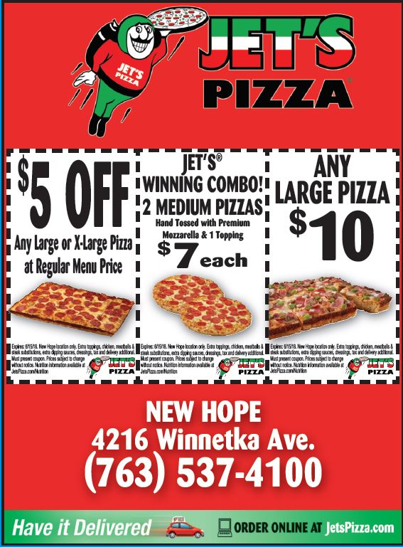 picture regarding Jets Pizza Coupons Printable known as Jets pizza coupon code - Airport shuttles towards dulles